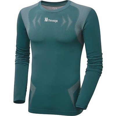 THE EDGE Flow Form Women's Basleayer Top, TEAL