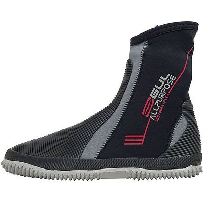 GUL All Purpose 5mm Junior Boot, BLACK-GREY