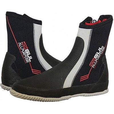 GUL All Purpose 5mm Junior Boot, BLACK-RED