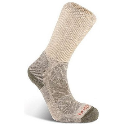 BRIDGEDALE Women's MerinoFusion Trail Socks, NATURAL
