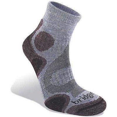 BRIDGEDALE Coolfusion Trail Diva Women's Walking Sock, HEATHER-DAMSON