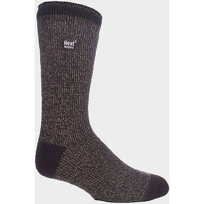 HEAT HOLDERS Men's Twist Socks, BROWN