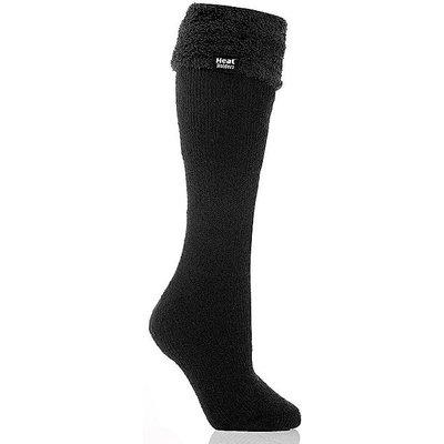 HEAT HOLDERS Ladies' Wellington Boot Socks, BLACK