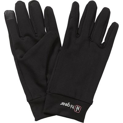 HI-GEAR Women's Tech Stretch Touch Screen Gloves, BLACK