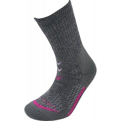 LORPEN Women's T3 Midweight Hiker Socks, CHARCOAL