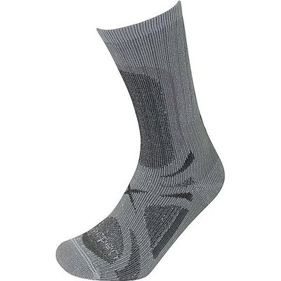 LORPEN Men's T3 All Season Trekker Socks, GREY