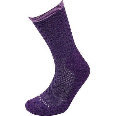 LORPEN Women's T2 Light Hiker Sock, PLUM