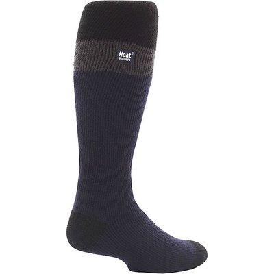 HEAT HOLDERS Men's Ski Gloves, NAVY-BLACK