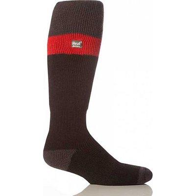 HEAT HOLDERS Men's Ski Gloves, RED-GREY