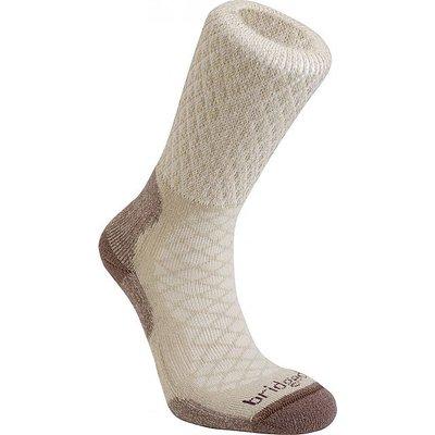 BRIDGEDALE Women's MerinoFusion Trail Socks, SAND