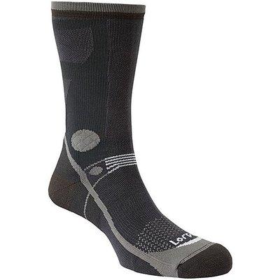 LORPEN Women's T3 Light Hiker Socks, BLACK