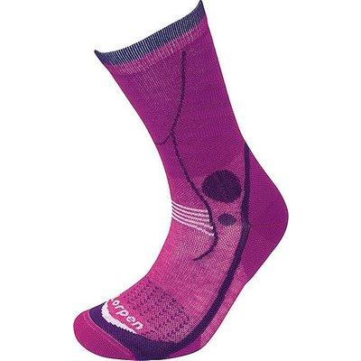 LORPEN Women's T3 Light Hiker Socks, VIOLET