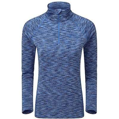 NORTH RIDGE Women's Ainslie Half Zip Pullover, AMPARO BLUE