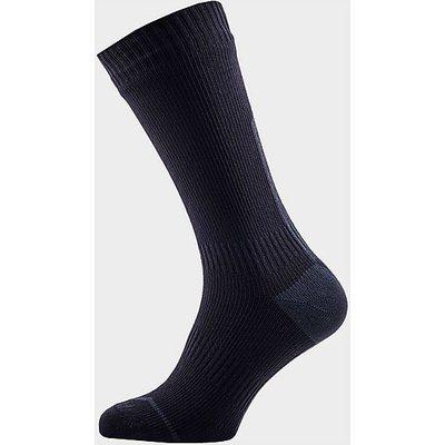 SEALSKINZ Mid Mid Hydrostop Waterproof Socks, BLACK-ANTHRACIT