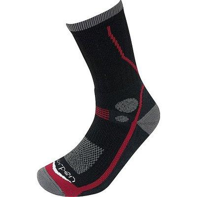 LORPEN Women's T3 Midweight Hiker Socks, BLACK