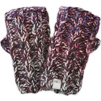 SCREAMER Katy Fingerless Winter Gloves, PURPLE ORCHID