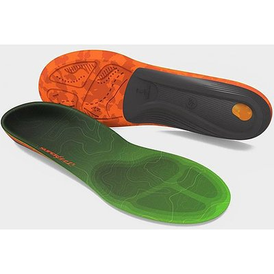 SUPERFEET Men's Trailblazer Comfort Insoles, PINE - GREEN/COM