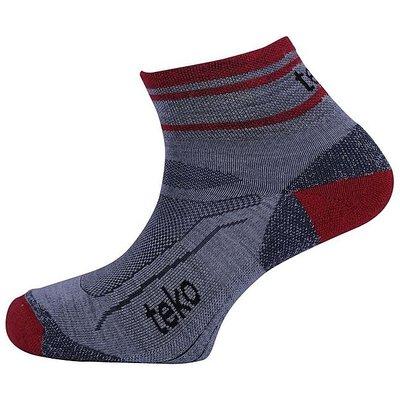TEKO Trail Socks, GREY-BRICK