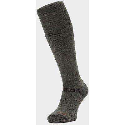BRIDGEDALE Explorer Heavyweight Merino Endurance Boot Sock, OLIVE GREEN