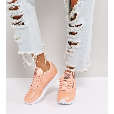 REEBOK Reebok - Klassische Ledersneaker in Rosa mit Perlmuttglanz - Rosa
