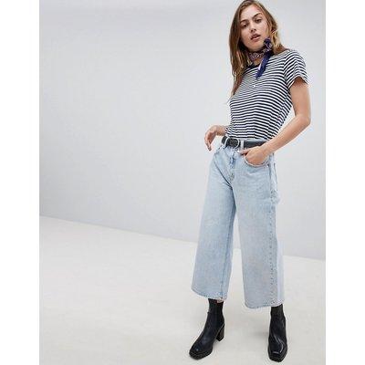 Jeans im Sale - Levi's - Jeans mit hohem Bund und weitem Bein - Blau
