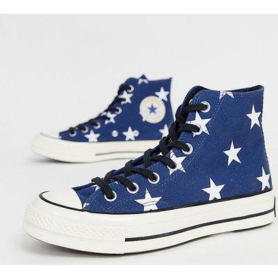 CONVERSE Converse - Chuck '70 - Sneaker mit Sternenmuster - Blau