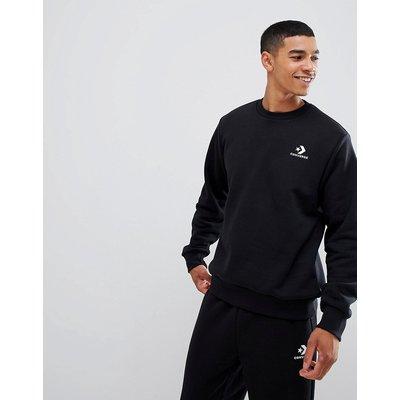 CONVERSE Converse - Schwarzes Sweatshirt mit Logo