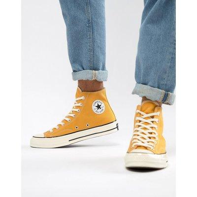 CONVERSE Converse - All Star Chuck 70 - Hohe Leinenschuhe in Gelb - Gelb