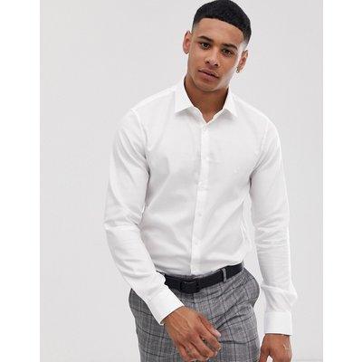 CALVIN KLEIN Calvin Klein - Bari - Schmal geschnittenes Hemd - Weiß