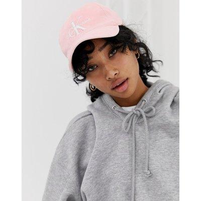 CALVIN KLEIN Calvin Klein Jeans - Reissue - Kappe mit Logo in verwaschenem Rosa - Rosa