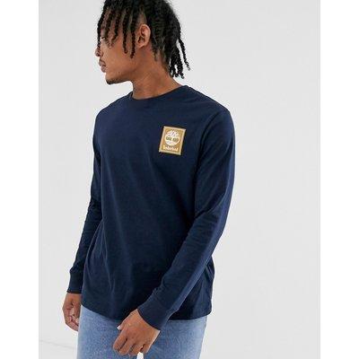 TIMBERLAND Timberland - T-Shirt mit Rundhalsausschnitt und Logo - Blau
