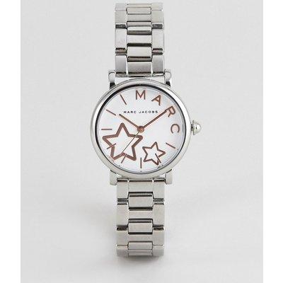 MARC JACOBS Marc Jacobs - MJ3591 - Damenarmbanduhr aus Edelstahl mit sternverziertem Zifferblatt - Silber