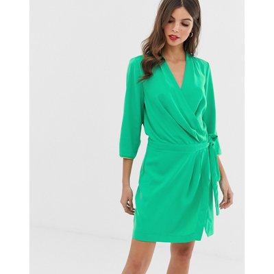 VERO MODA Vero Moda - Seitlich geschnürtes Kleid - Grün