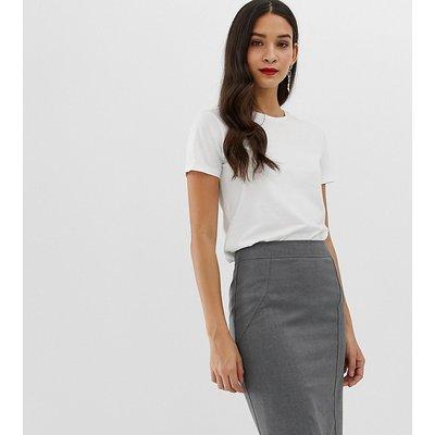 Oasis pencil skirt in grey