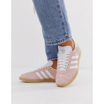 ADIDAS adidas Originals - Gazelle - Sneaker in Pfirsich mit Gummisohle - Cremeweiß