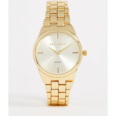 BELLFIELD Bellfield - Goldene Damen-Armbanduhr - Gold