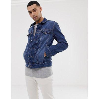 TOM TAILOR Tom Tailor - Jeansjacke in verwaschenem Mittelblau - Blau