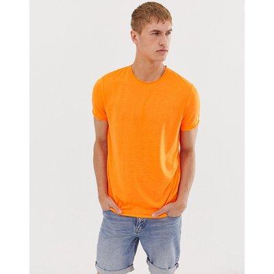 BRAVE SOUL Brave Soul - Unversäumtes T-Shirt in Neon - Orange