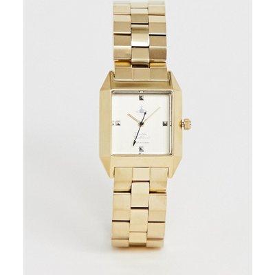 VIVIENNE WESTWOOD Vivienne Westwood - VV143GDGD - Hatton - Goldene Damenarmbanduhr - Gold