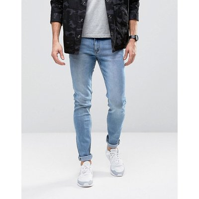 CHEAP MONDAY Cheap Monday - Enge Jeans in blauer Stone-Waschung - Blau