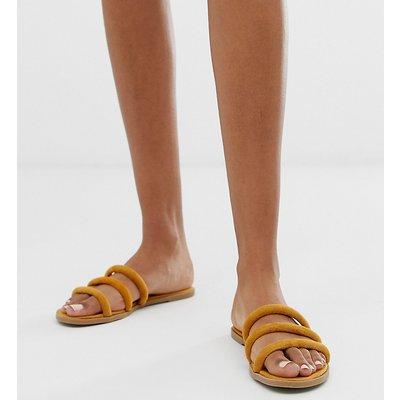 NEW LOOK New Look - Sandale mit Röhrendesign in Maisgelb - Gelb