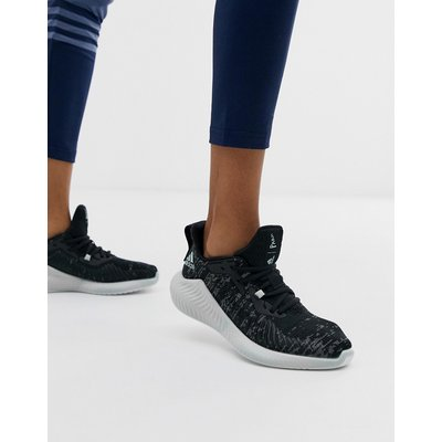 ADIDAS adidas - Parley alphabounce - Schwarze Sneaker - Schwarz