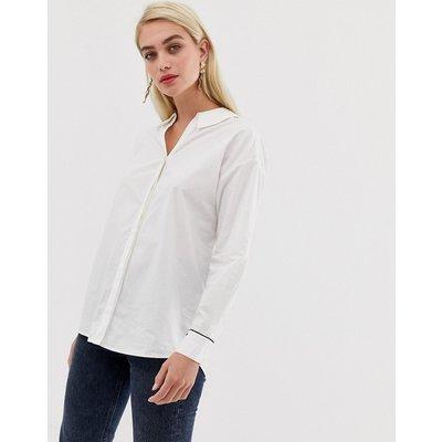 VERO MODA Vero Moda - Weißes Hemd mit Zierausschnitt hinten - Weiß