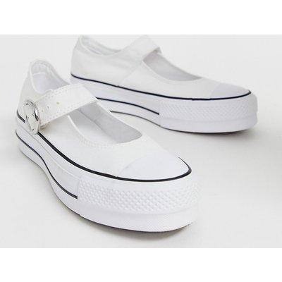 CONVERSE Converse - Chuck Taylor - Mary Jane - Leinenschuhe in Weiß - Weiß