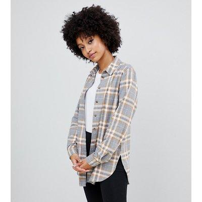 NEW LOOK New Look - Kariertes Hemd mit grauem Muster - Grau