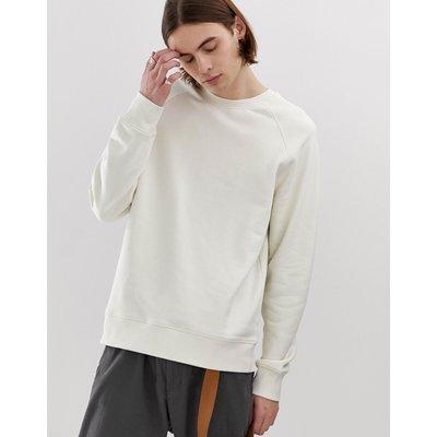 WEEKDAY Weekday - Paris - Sweatshirt in Weiß - Weiß