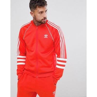 Sneaker im Sale - adidas Originals - Authentic Superstar - Trainingsjacke in Rot