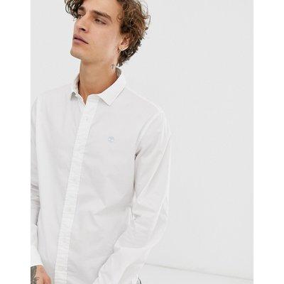 TIMBERLAND Timberland - Popelinehemd mit Stretchanteil - Weiß
