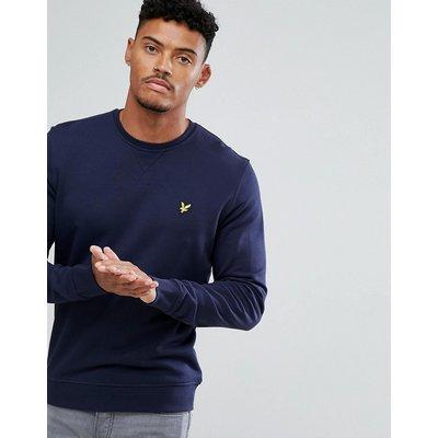 LYLE & SCOTT Lyle & Scott - Marineblaues Sweatshirt mit Logo - Navy