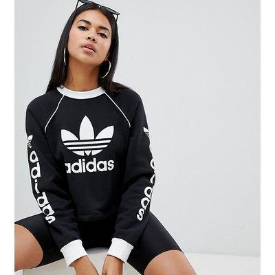ADIDAS adidas Originals - Sweatshirt mit Print am Arm - Schwarz